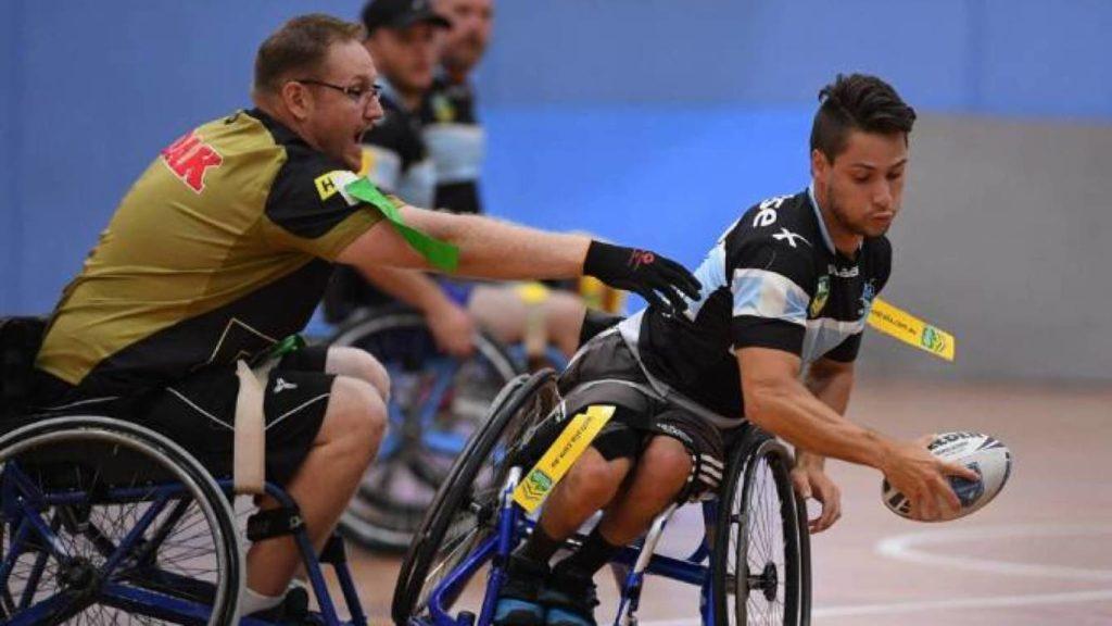 rugby silla de ruedas Rehatrans Pepe Varela