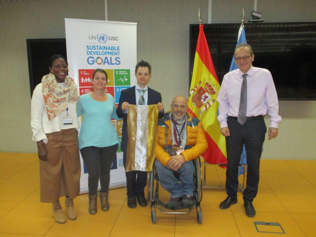 bandera, personas con discapacidad, silla de ruedas, adaptación de vehículos, pepe varela, Rehatrans