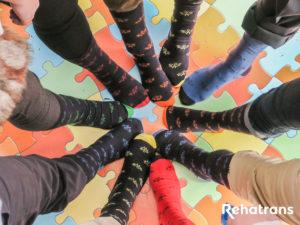Calcetines Solidarios en Rehatrans (1)