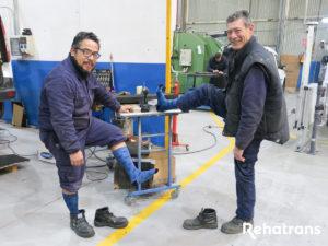Calcetines Solidarios en Rehatrans (2)