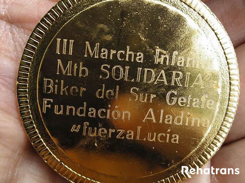 Medalla Finisher Aladina 2018
