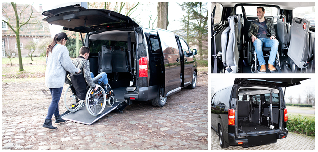 Peugeot Traveller adaptada silla de ruedas
